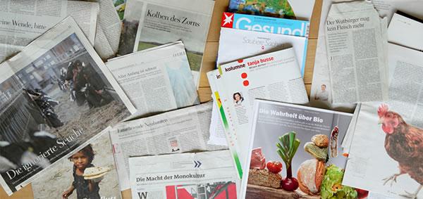 Tanja Busse Zeitungsausschnitte